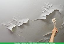 When Can You Claim for Water Damage Coverages on Home Insurance