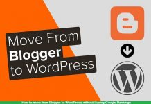 How to move from Blogger to WordPress without Losing Google Rankings