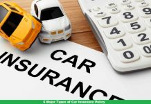 6 Major Types of Car Insurance Policy